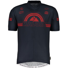 Maloja PlajetM. Shortsleeve Bike Jersey Herren mountain lake